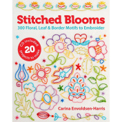 Lark Books-Stitched Blooms