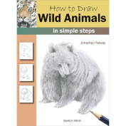 Search Press Books-How To Draw Wild Animals In Simple Steps