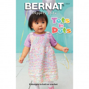 SpinRite Bernat Dippity Dots Tots in Dots Book