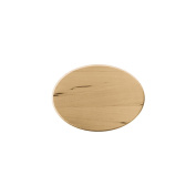 Basswood Oval Thin Plaque-13cm x 18cm