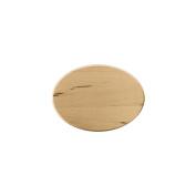 Basswood Oval Thin Plaque-13cm x 18cm