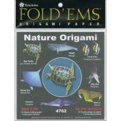 Fold 'Ems Origami Paper 15cm x 15cm 27/Pkg-Sea Life