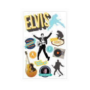 Paper House 3D Stickers-Elvis