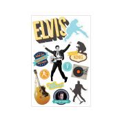 Paper House 3D Stickers-Elvis