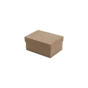 Paper-Mache Mini Rectangle Box-8.6cm x 6cm X1.13cm