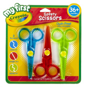 My First Crayola Safety Scissors-3/Pkg