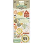 Prairie Hill Element Cardstock Sticker