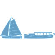 Marianne Design Creatables Dies-Classic Boats, 6cm x 8.3cm