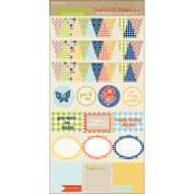 Double Dutch Mixed Cardstock Stickers