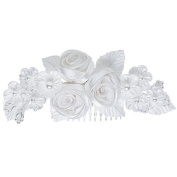 Headpiece-White Flowers