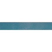 Ruban Sari Ribbon 1.6cm X27 Yards-Blue/Brown
