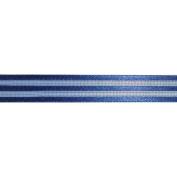 Ruban Crinoline Ribbon 1.6cm X27 Yards-Blue