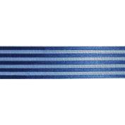 Ruban Crinoline Ribbon 2.5cm X27 Yards-Blue