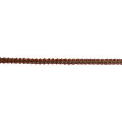 Galon Murmure Braid Ribbon 0.3cm X27 Yards-Brown