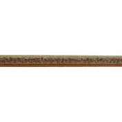 Galon Toundra Braid Ribbon 1cm X27 Yards-Gold Multi