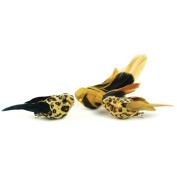 Mushroom Bird On Clip 13cm 1/Pkg-Safari-Assorted Prints