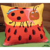 Mme Pott Pillow Cross Stitch Kit-38cm - 1.9cm x 40cm
