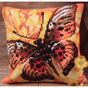 Flamme Pillow Cross Stitch Kit-38cm - 1.9cm x 40cm