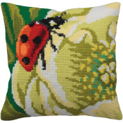 Coccinelle Pillow Cross Stitch Kit-38cm - 1.9cm x 40cm