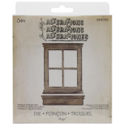Sizzix Bigz Die By Tim Holtz 14cm x 15cm -Window & Window Box