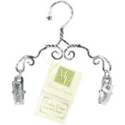 Decorative Scroll Clip Hanger 10cm