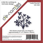 Die-Namites Die-Leafy Flourish, 7.6cm x 7.6cm