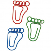 Paper Clips 20/Pkg-Feet Shaped