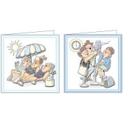 Art Impressions Pop-Ups 4 Sheets W/2 Designs 21cm x 30cm -Deco Set 3