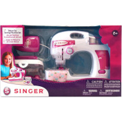 Singer Deluxe Toy Sewing Machine With Sewing Kit Set-