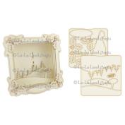 La-La Land Shadow Box Kit 16cm x 16cm -Christmas