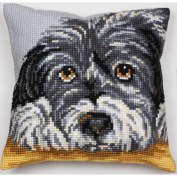 Fidele Pillow Cross Stitch Kit-38cm - 1.9cm x 40cm