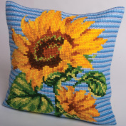 Zenith Pillow Cross Stitch Kit-38cm - 1.9cm x 40cm