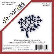 Die-Namites Die-Pear Tree, 9.7cm x 9cm
