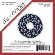 Die-Namites Die-Holiday Wreath, 9.5cm x 9.5cm