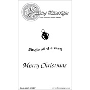 Stacy Stamps Cling Mounted Stamps 10cm x 3.8cm -Jingle Bells
