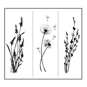 Stacy Stamps Cling Mounted Stamps 8.3cm x 2.5cm -Weeds & More