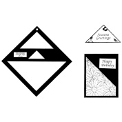 Triangle Tag Template-3 Sizes