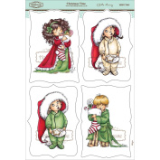 Mo Manning Topper Sheet 21cm x 31cm -Christmas Time