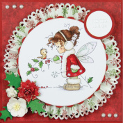 Wee Stamps Topper Sheet 21cm x 31cm -Winter Fairy