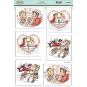 KennyK Topper Sheet 21cm x 31cm -Love Is
