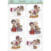Elisabeth Bell Topper Sheet 21cm x 31cm -Gingerbread Wishes