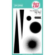 Avery Elle Clear Stamp Set 10cm x 15cm -Bright Days