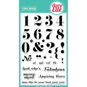 Avery Elle Clear Stamp Set 10cm x 15cm -Count On It