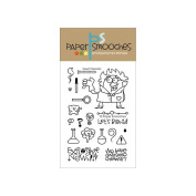 Paper Smooches 10cm x 15cm Clear Stamps-Great Chemistry
