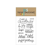 Paper Smooches 10cm x 15cm Clear Stamps-Joyful Greetings