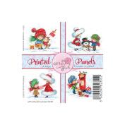 Wild Rose Studio Ltd. 10cm x 10cm Printed Panels 12/Sheets-Annabelle & Antoine