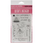 Uchi's Design Spanish Clear Stamp Set 10cm x 15cm Sheet-Cumpleanos