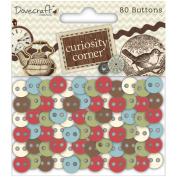 Curiosity Corner Plastic Buttons