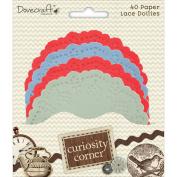 Curiosity Corner Paper Doilies-Assorted Colours