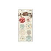 Curiosity Corner Accordion Stickers-Flowers